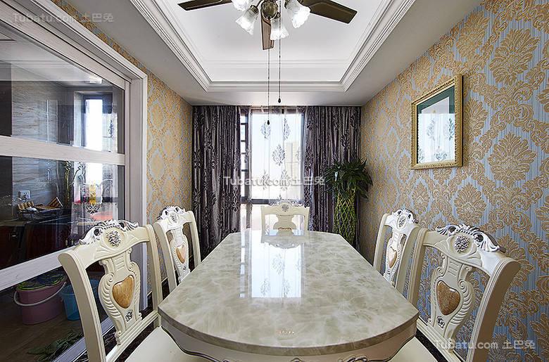 古典欧式餐厅设计大全