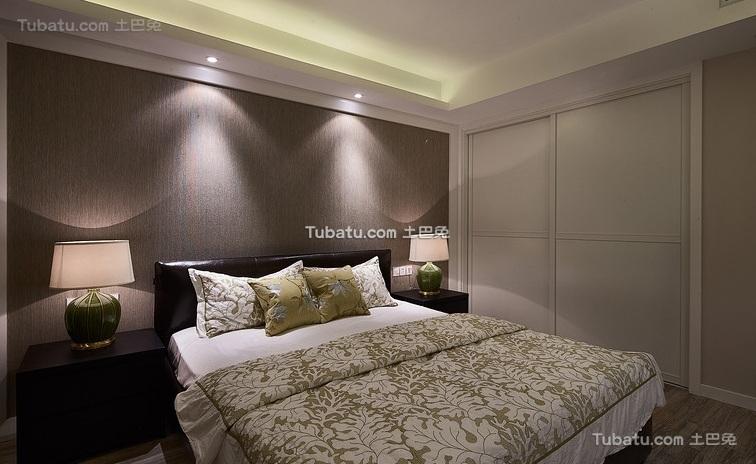 现代简约设计卧室装修效果图片
