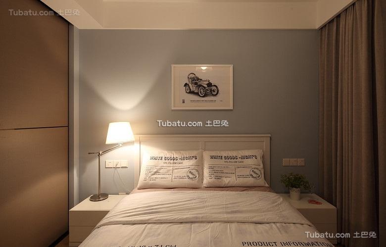 简约宜家风格卧室效果图