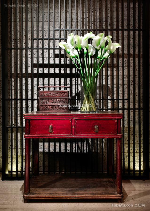 中式会所装修室内效果图片欣赏