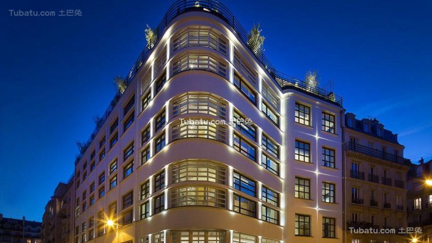 酒店建筑装修设计图片案例