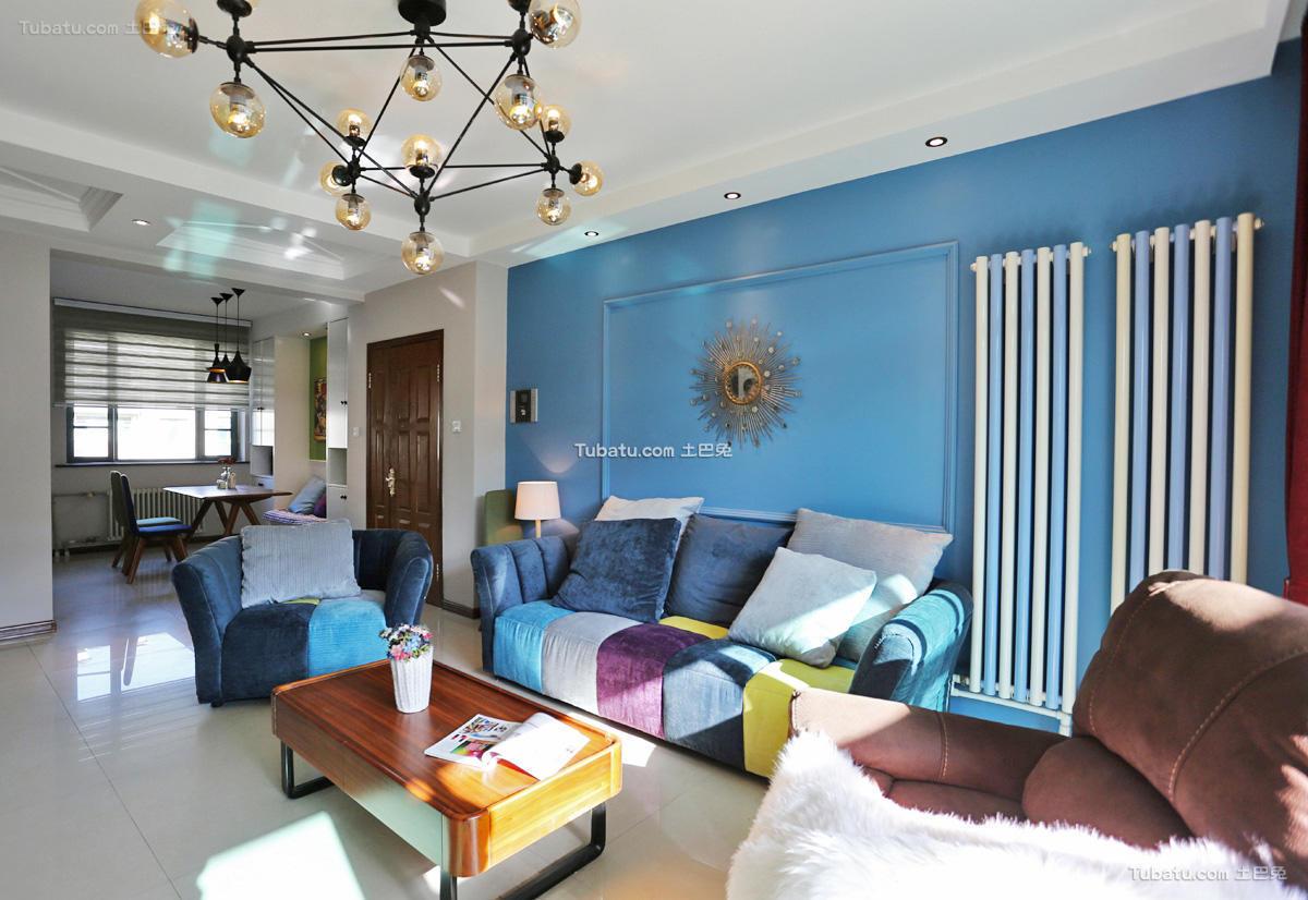 现代多彩公寓室内设计效果图