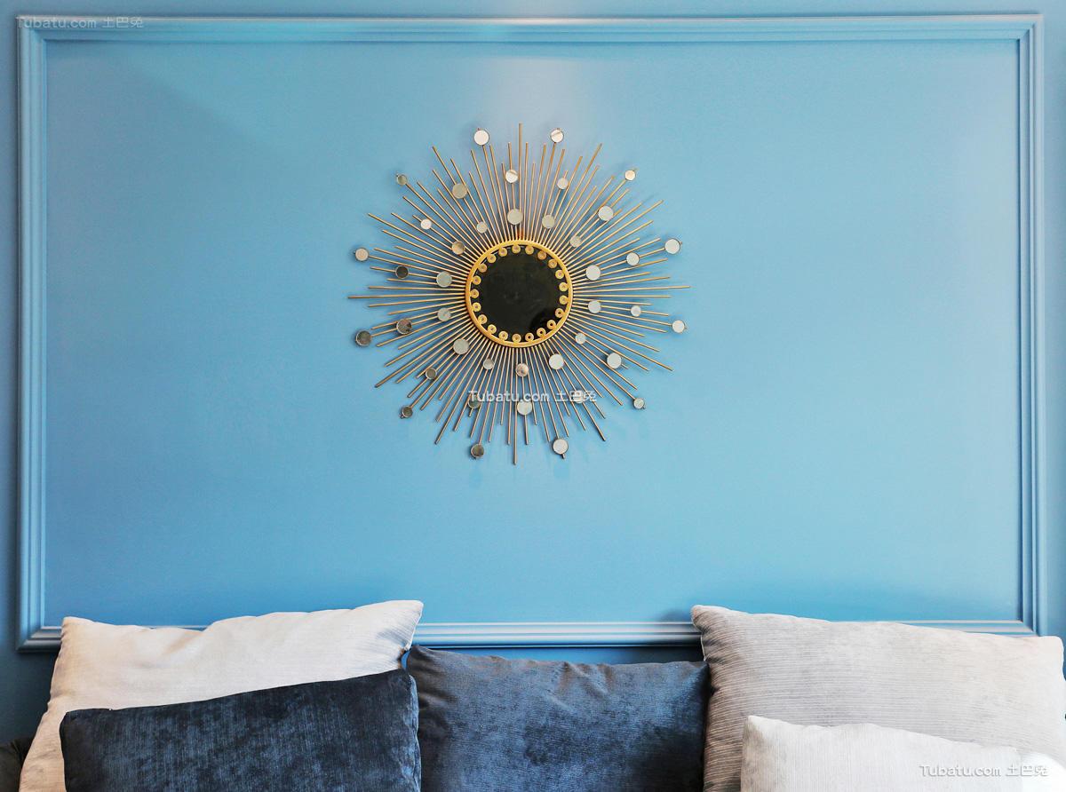 现代室内沙发背景墙装饰效果图