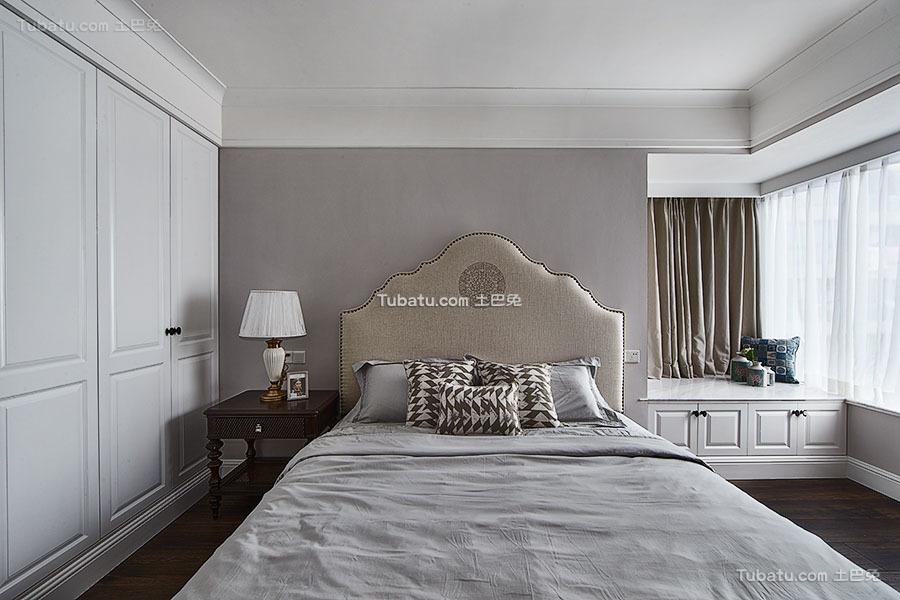 美式卧室飘窗图欣赏