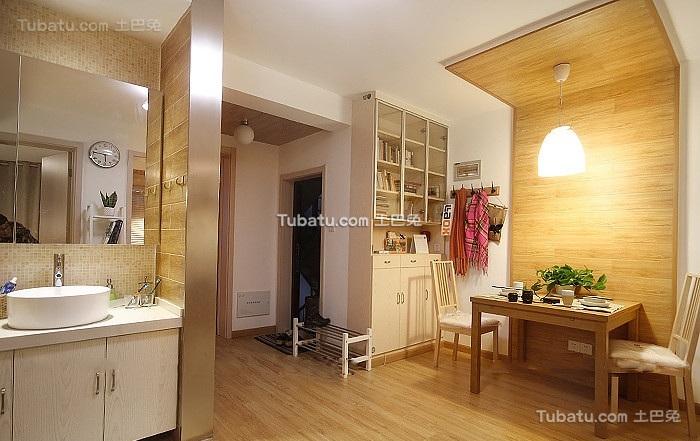 现代小清新日式一居室设计
