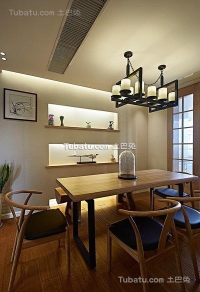 现代素雅原木禅风餐厅设计
