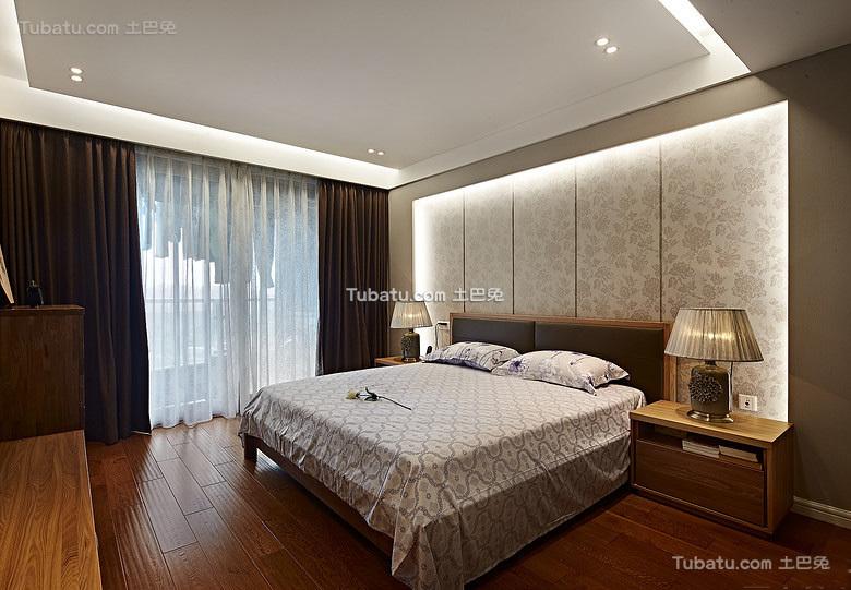 素雅原木风现代卧室设计
