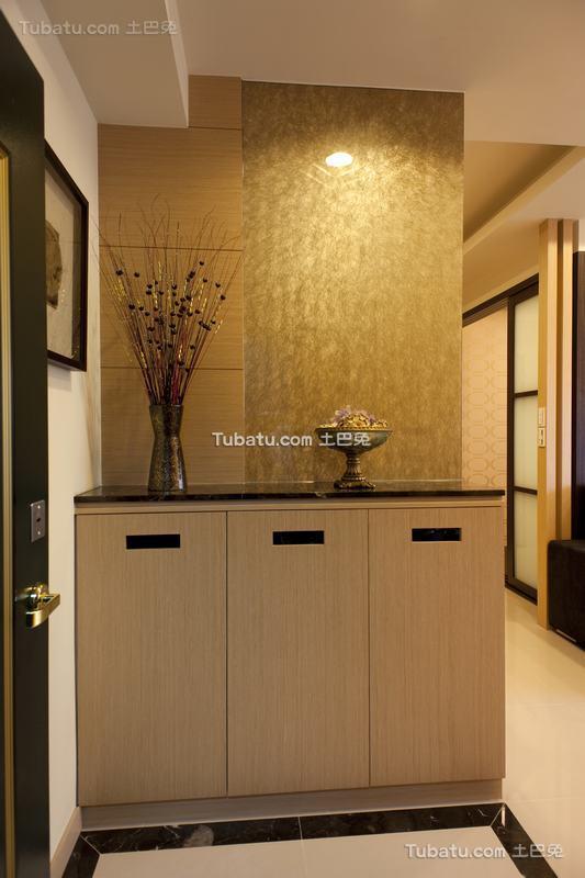 日式现代风格家居鞋柜装修效果图