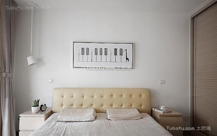现代小清新日式背景墙设计