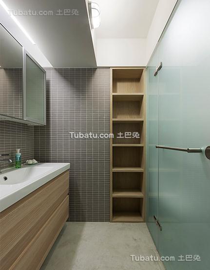 现代风格公寓厨房室内设计效果图