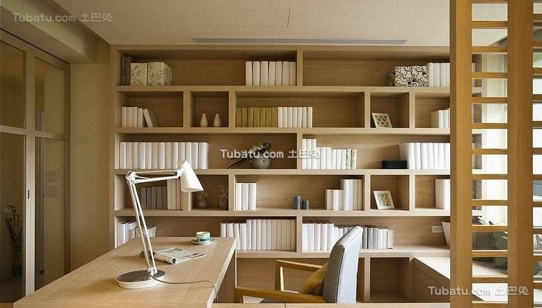 简约日式风格书房设计