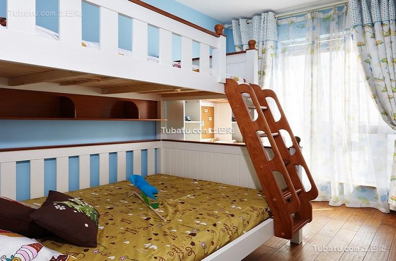 现代儿童房设计装修效果图欣赏