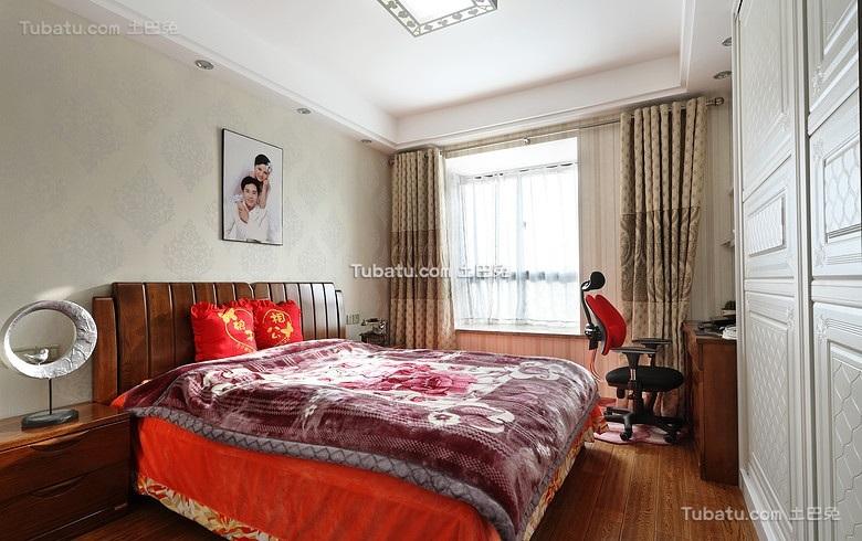 中式卧室婚房设计装饰