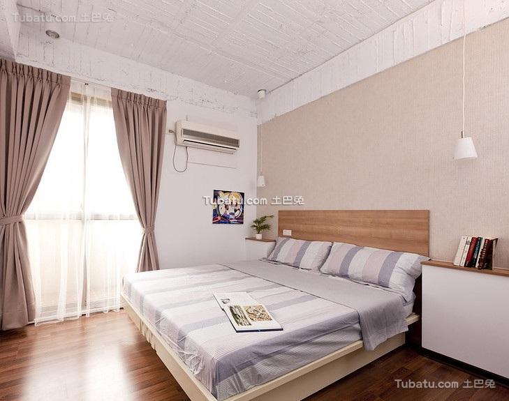 朴素简约风格卧室设计