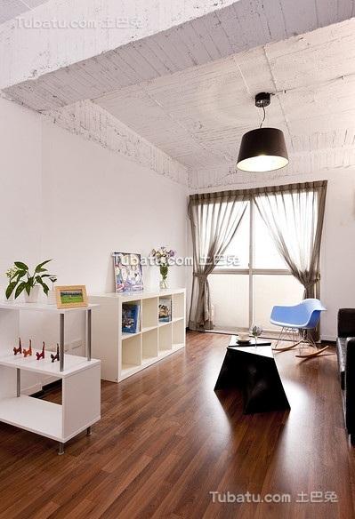 朴素简约风格一居室设计