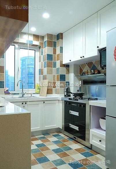 混搭式宜家风格厨房设计