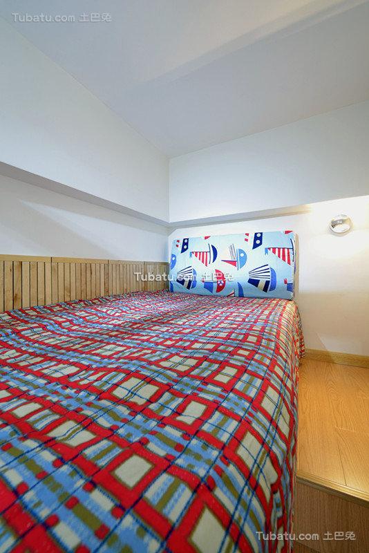 简约现代设计小户型儿童房效果图