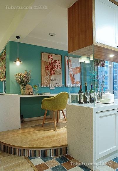 混搭式宜家风格二居室设计