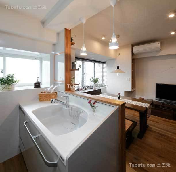 现代日式时尚公寓家居设计