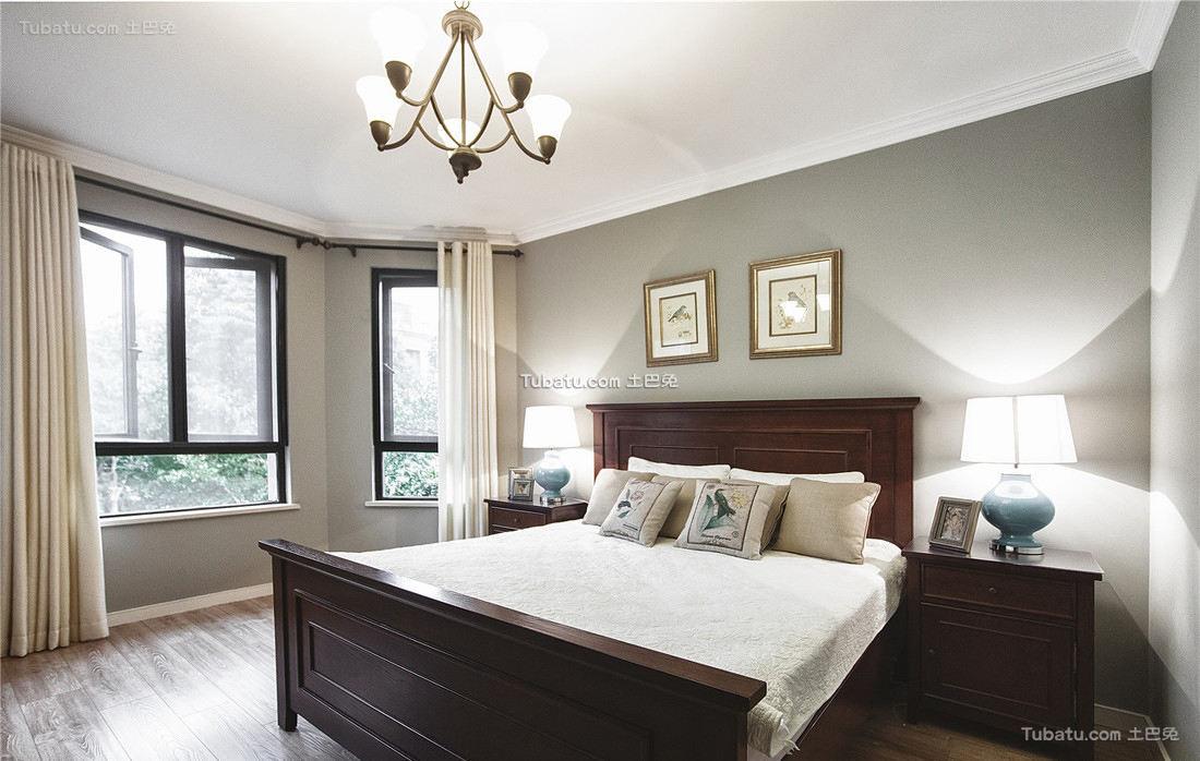 美式风格卧室设计装饰效果图片