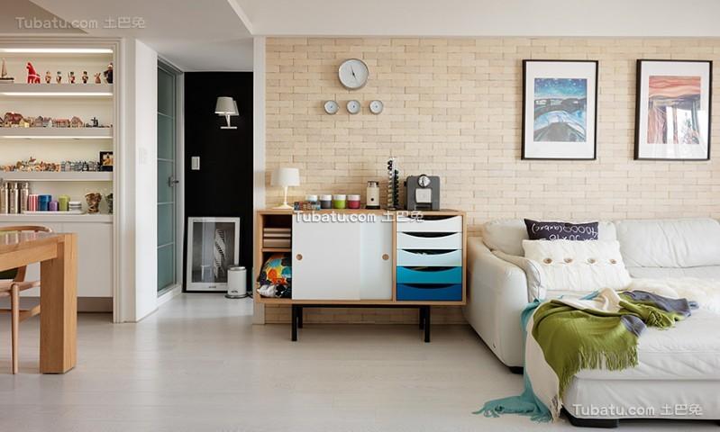 简约清新宜家风格一居室设计