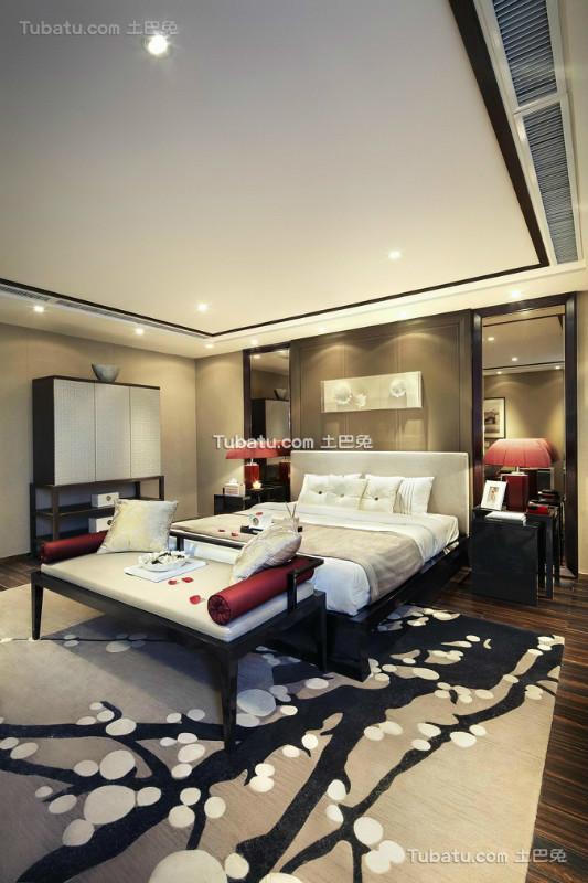 时尚雅致中式卧室装饰