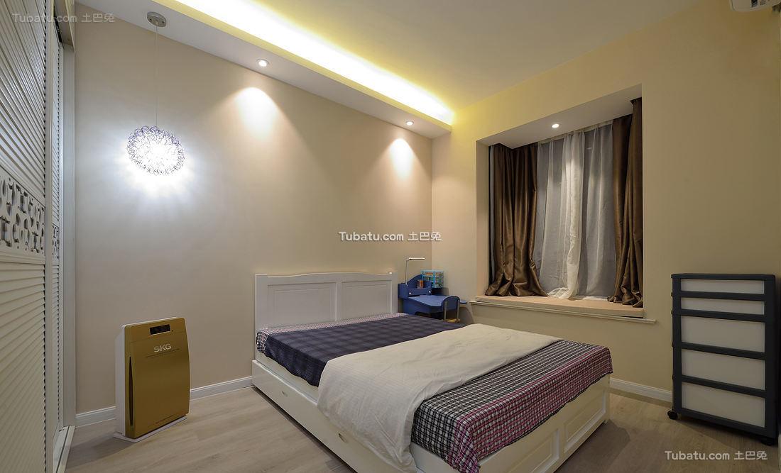 现代卧室设计装修效果图片欣赏