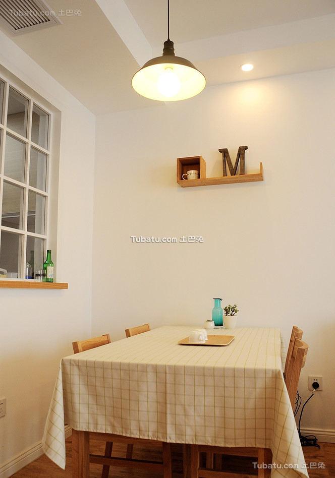 日式风格小户型室内餐厅设计图片