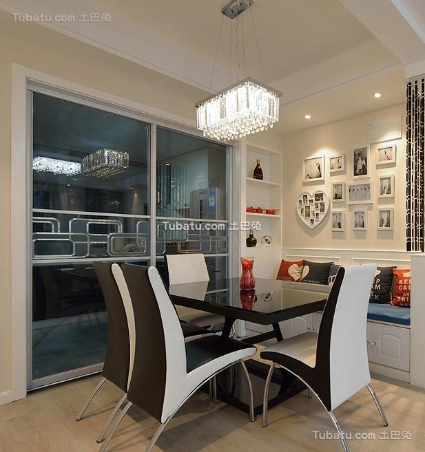 现代家居餐厅设计装修效果图片