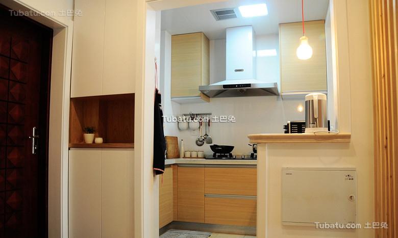 日式风格小户型厨房室内设计图片