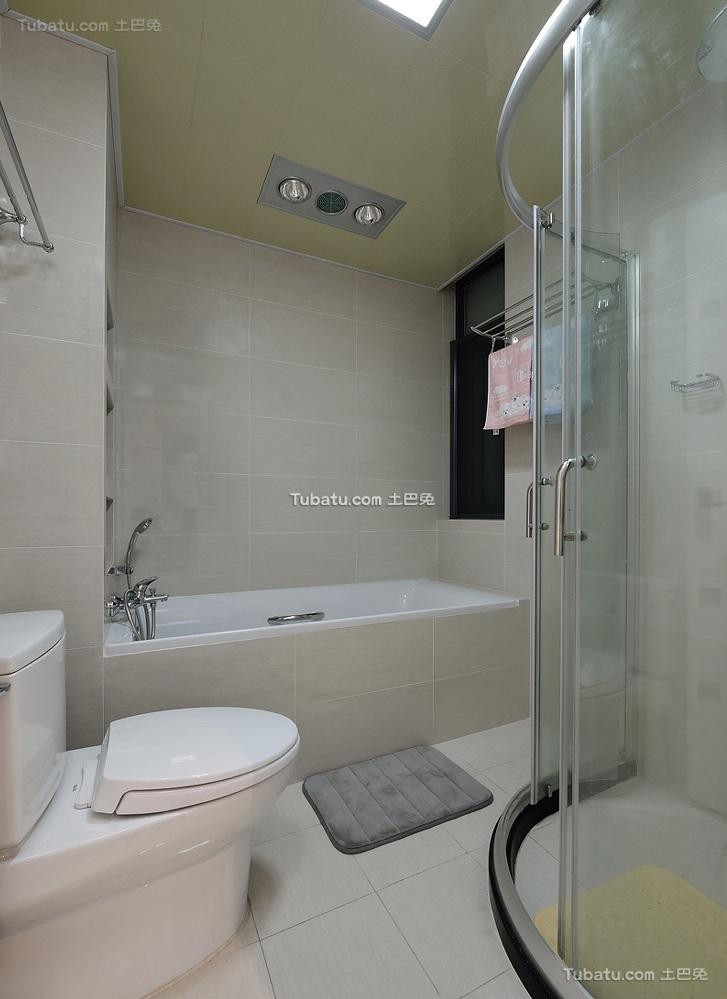 现代室内卫生间装修效果图片