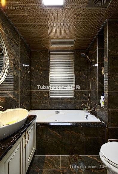 现代高端家装卫生间设计