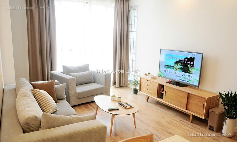 时尚日式风格小户型室内设计图片