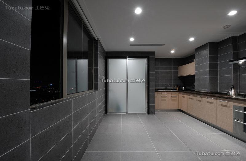 30平现代简约家居厨房设计
