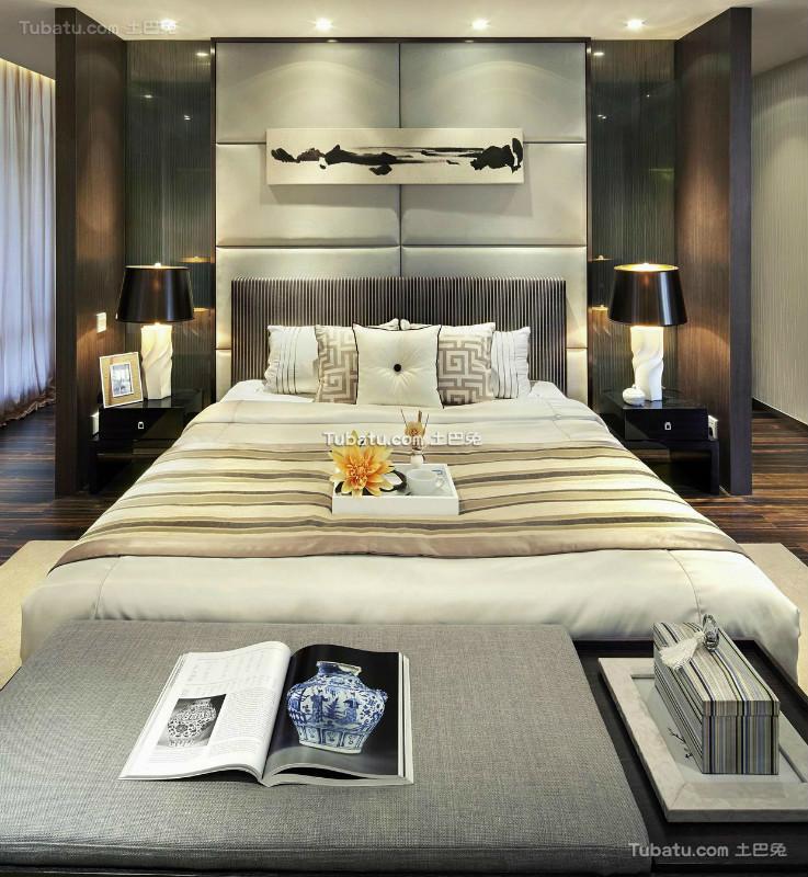 现代雅致卧室布置装饰