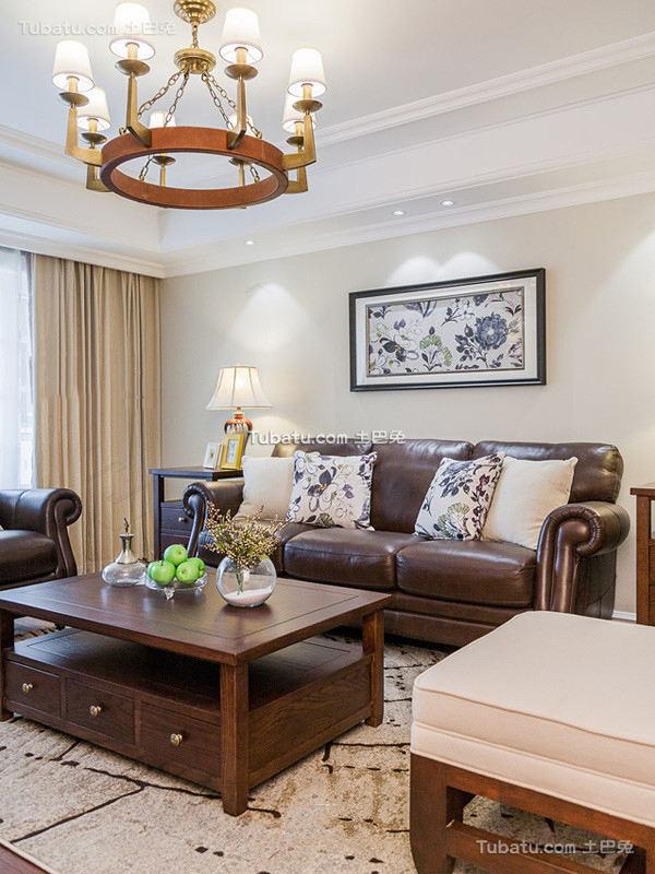美式家居客厅吊灯