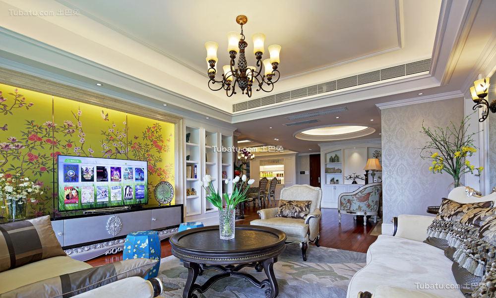 简欧风格别墅装饰设计效果图片