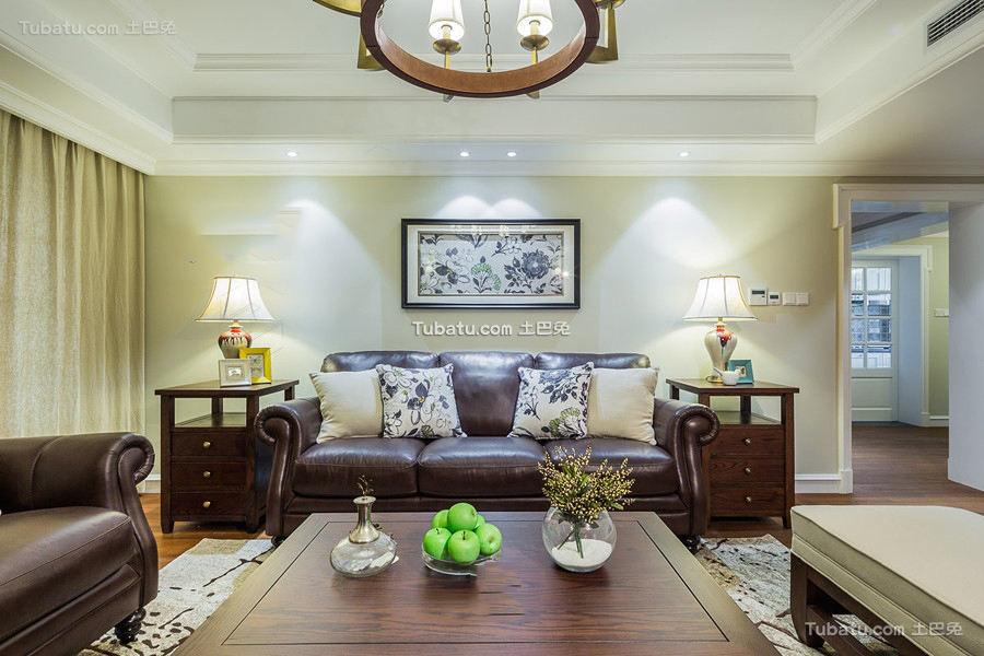 美式设计三室两厅大全图