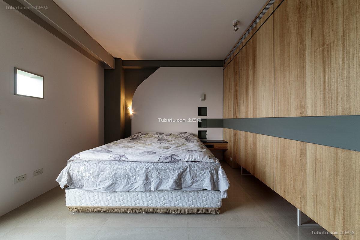 简约现代风格卧室装修设计效果图片