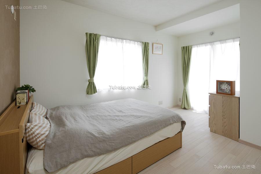 清新日式装修风格卧室设计