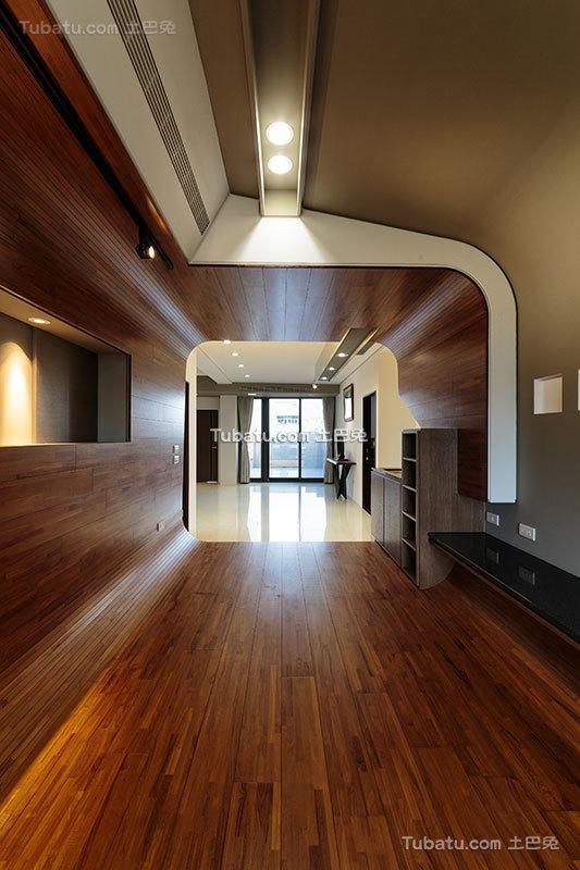 后现代风格室内过道设计效果图片