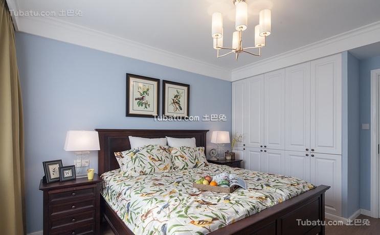 美式风格卧室装修设计效果图片欣赏