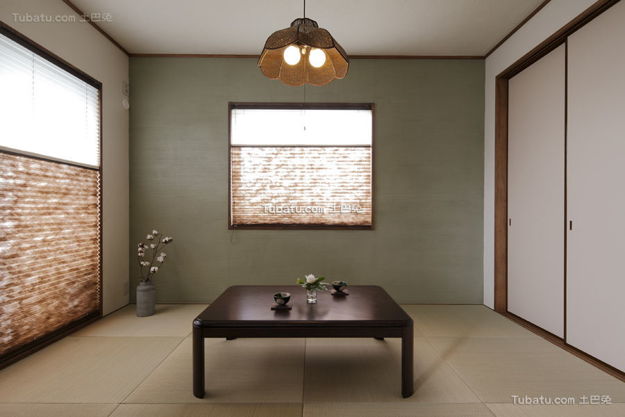 清新日式装修风格休闲区设计
