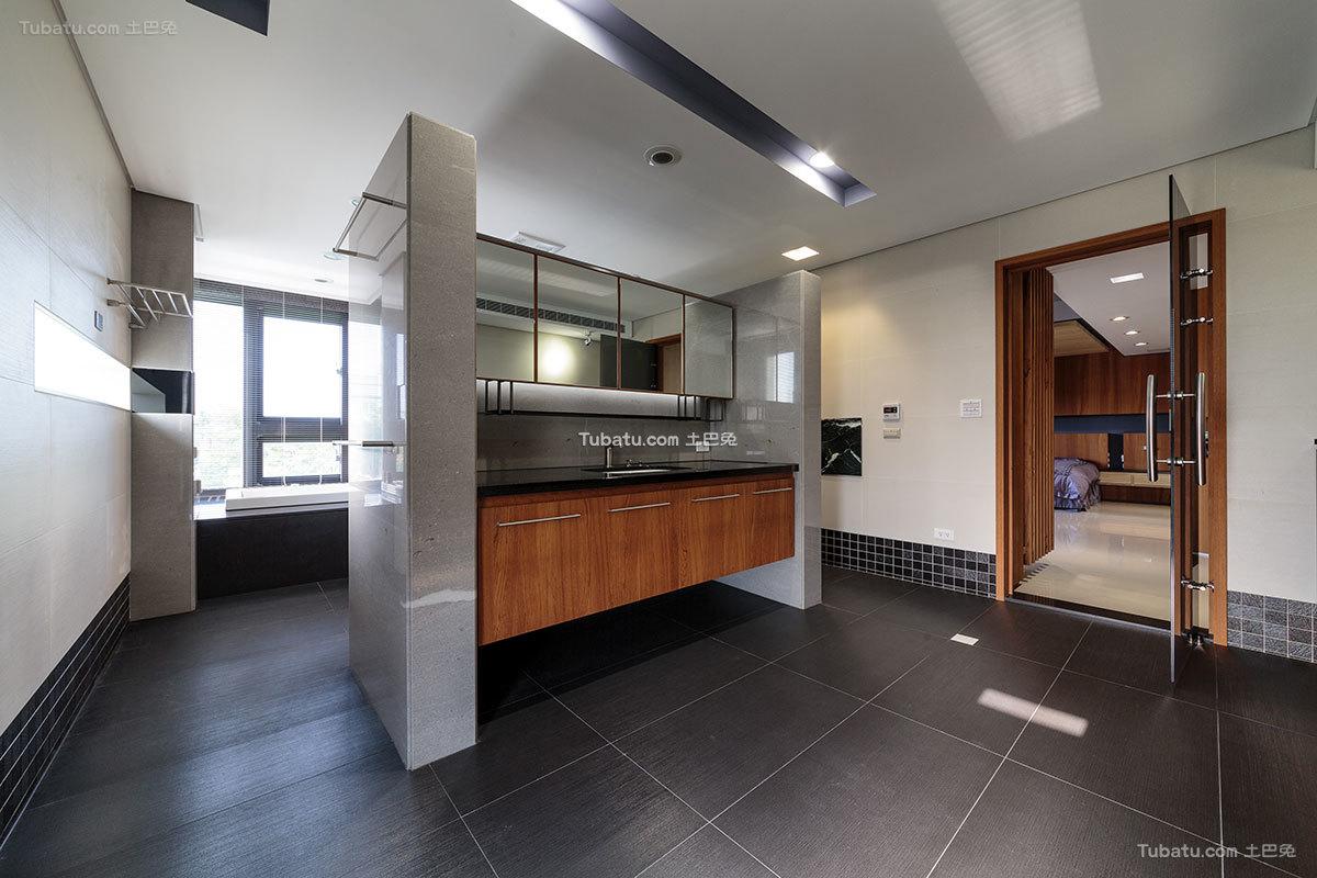 后现代风格别墅卫生间效果图片