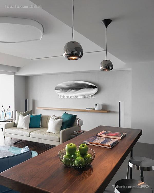 北欧现代风格二居室装修