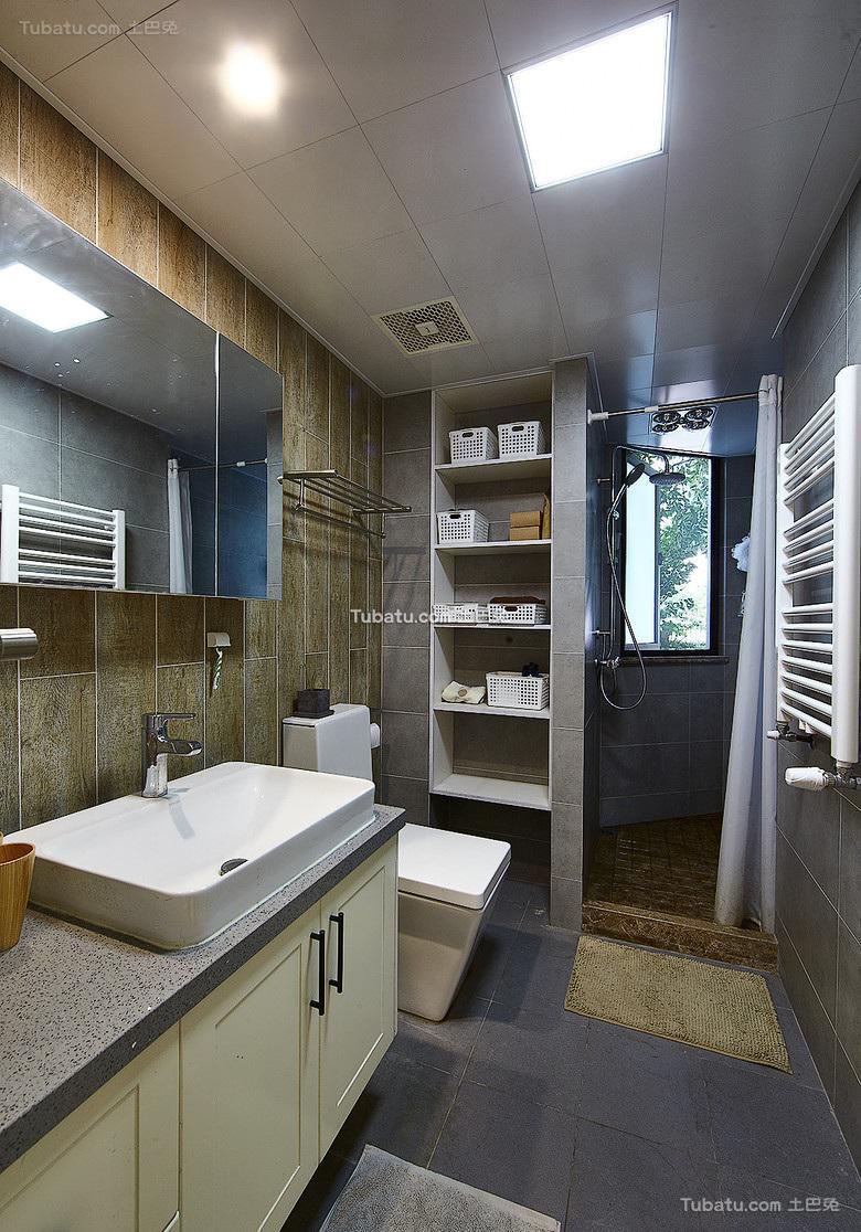 北欧风格卫生间室内装饰效果图片