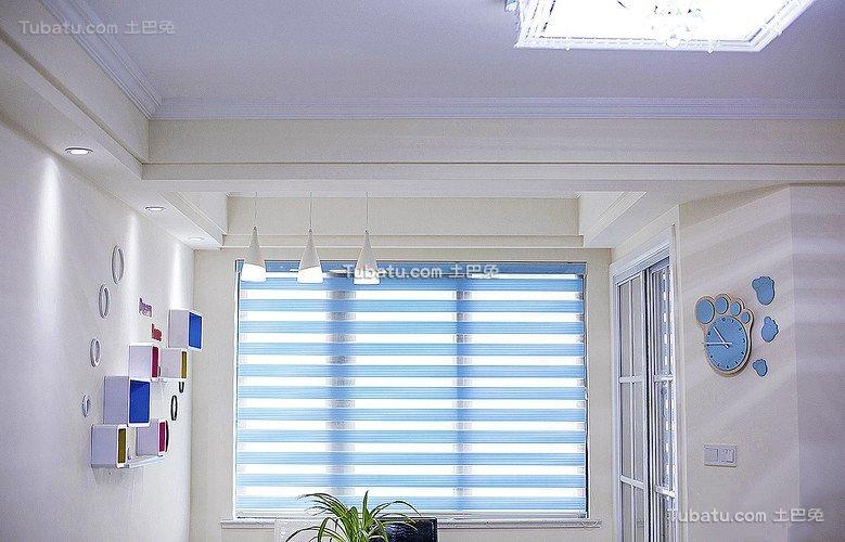 现代公寓室内百叶窗设计效果图片
