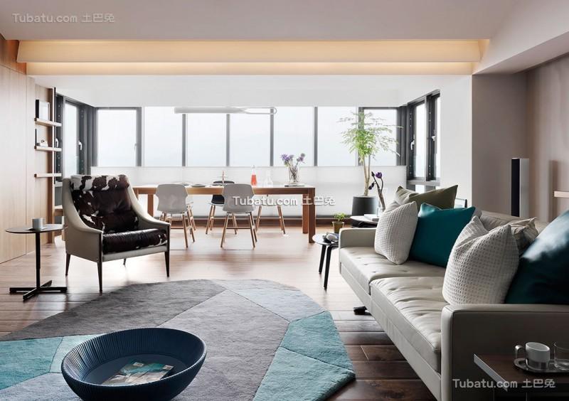 北欧现代风格家居装修设计