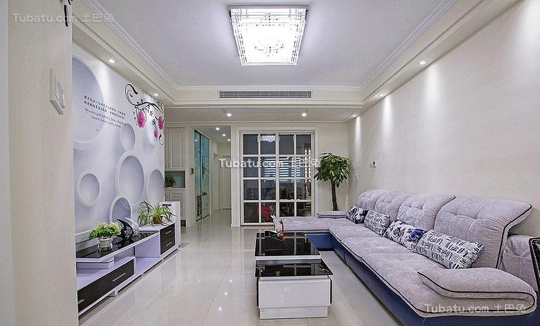 现代公寓室内装饰布置效果图片