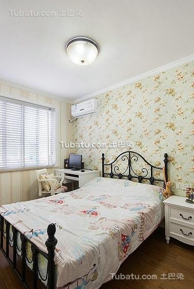田园设计清新小卧室大全